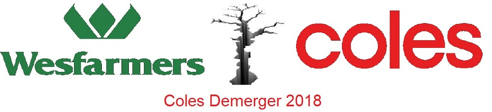 Coles Demerger 2018