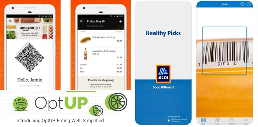 Supermarket in-store apps